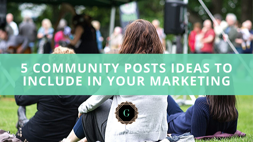 Community Post Ideas for Real Estate Marketing