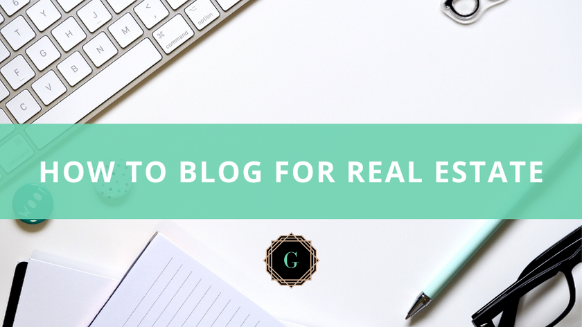 blog for real estate